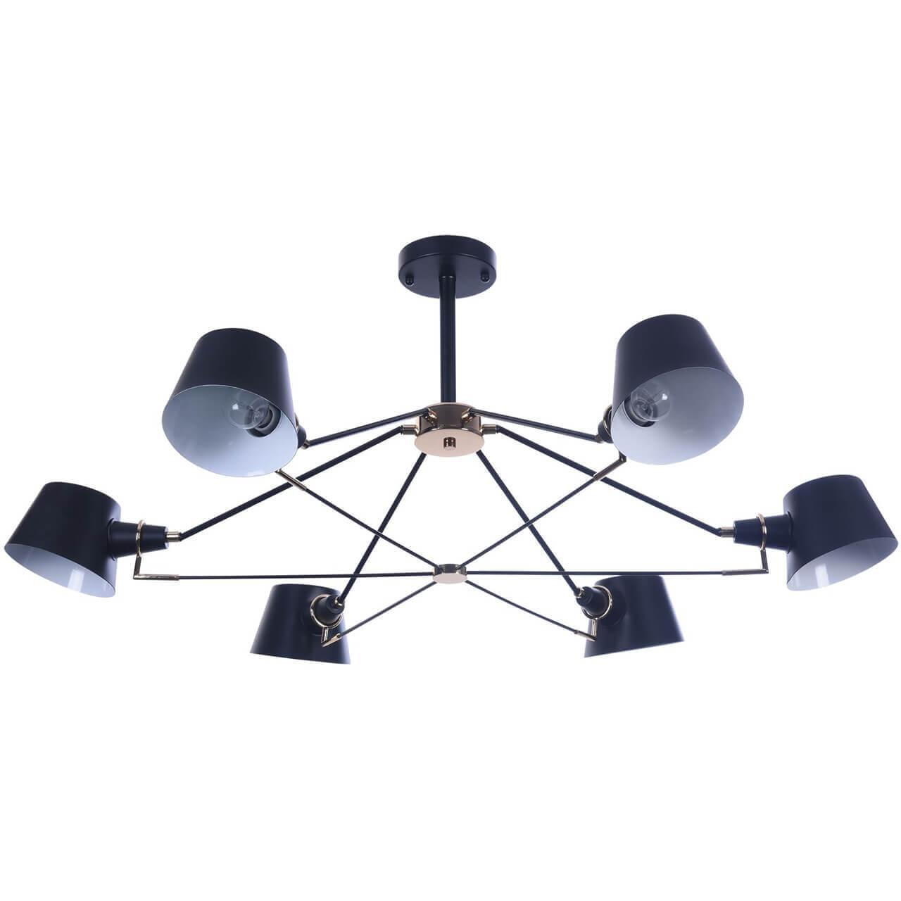 Потолочный светильник Freya FR5038-CL-06-B, E14, 40 Вт бра abigail fr5038 wl 01 b