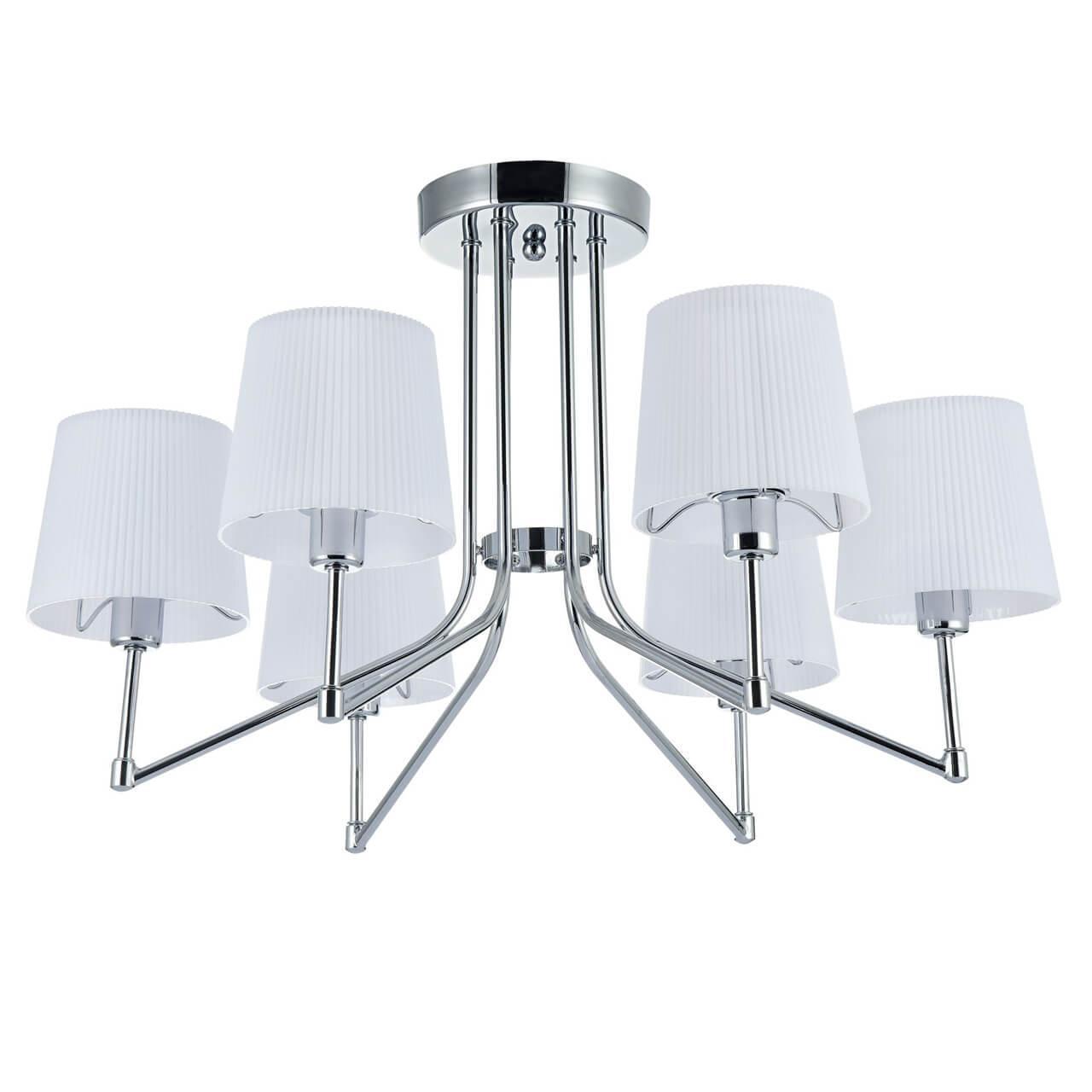 Потолочный светильник Freya FR5051-CL-06-CH, E14, 60 Вт люстра freya freya fr5051 cl 08 ch