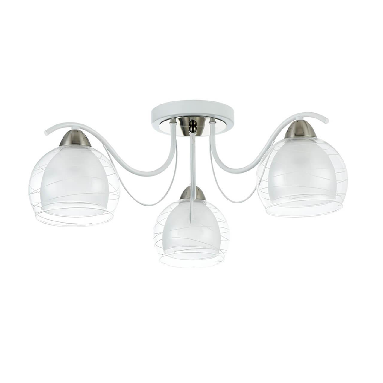 Потолочный светильник Freya FR5052-CL-03-W, E27, 60 Вт люстра freya freya fr5052 cl 08 w