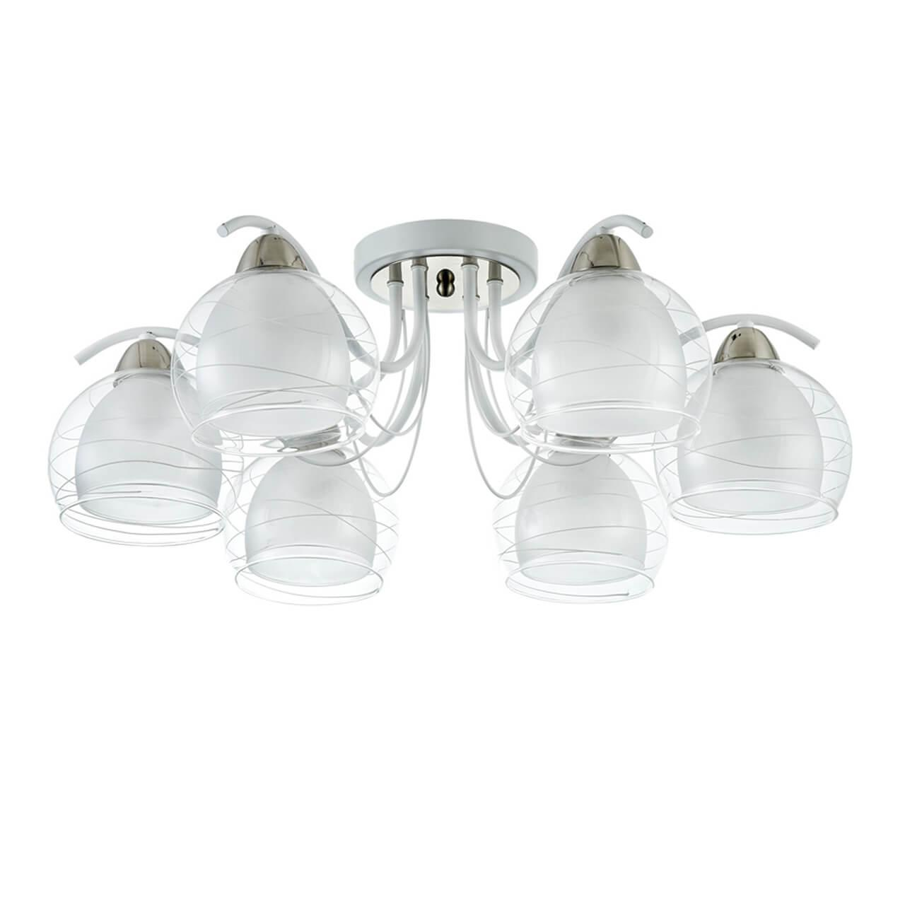 Потолочный светильник Freya FR5052-CL-06-W, E27, 60 Вт люстра freya freya fr5052 cl 03 w