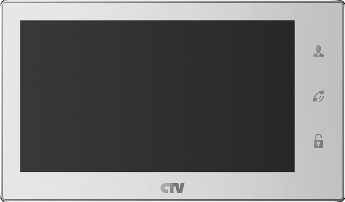 Монитор видеодомофона CTV-M4706AHD, белый