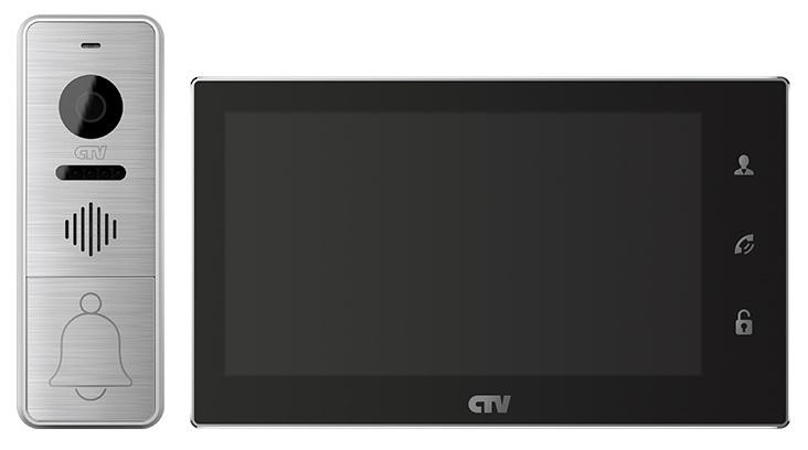 Комплект видеодомофона CTV-DP4706AHD, черный CTV