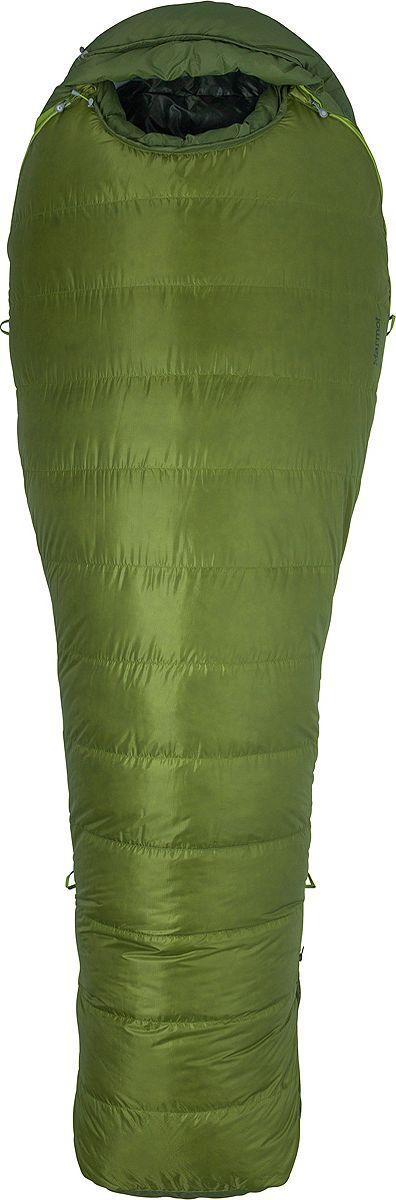 Спальный мешок Marmot Never Winter, 29830-4969-RZ, зеленый спальный мешок marmot trestles 0 long