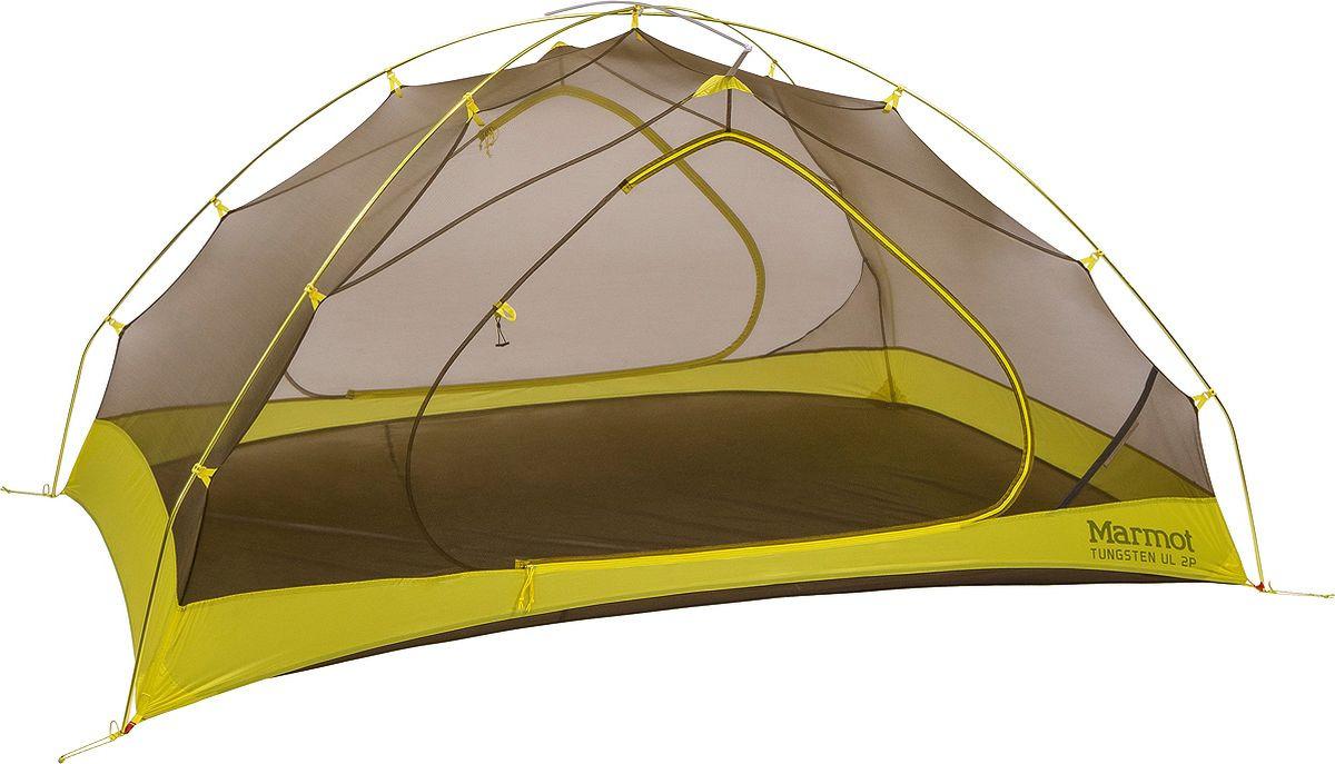 Палатка Marmot Tungsten UL 2P, 28480-9819-ONE, зеленый
