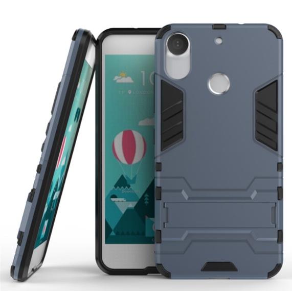 Чехол MyPads для HTC Desire 10 Pro Противоударный усиленный ударопрочный темно-синий htc pro