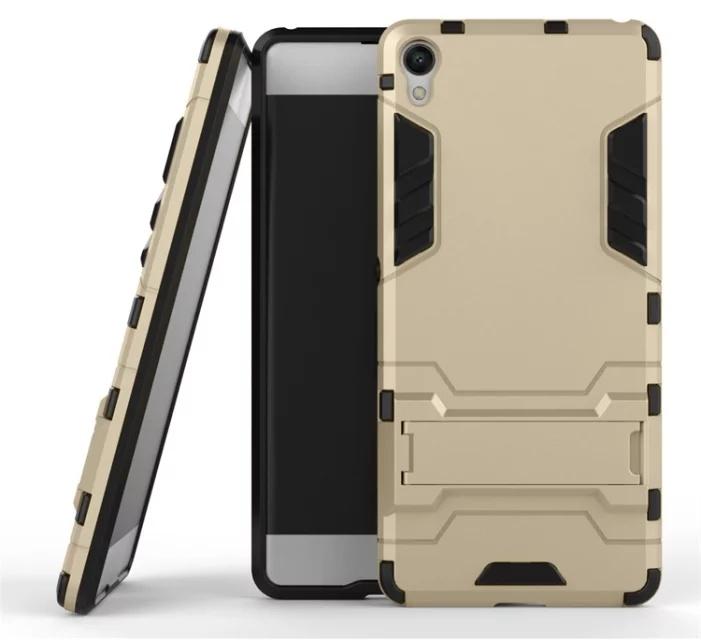 Чехол MyPads для Sony Xperia XA/ XA Dual Противоударный усиленный ударопрочный золотой чехол sony sbc34 для xperia xa ultra белый
