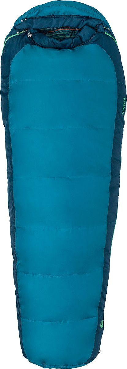 Спальный мешок Marmot Kid's Trestles 30, 38470-3907-LZ, синий спальный мешок marmot trestles 0 long