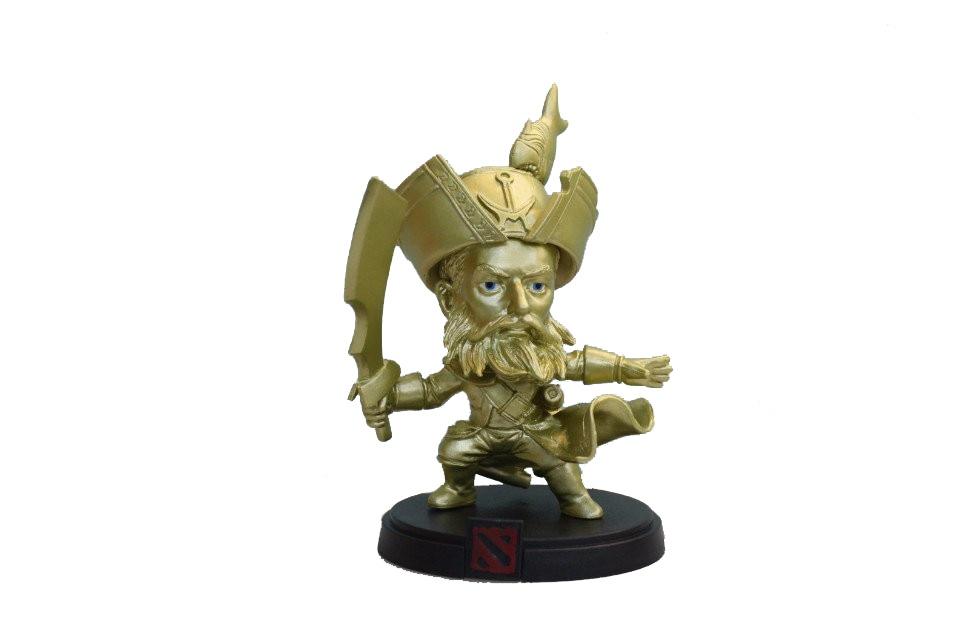 цена на Фигурка Dota 2: Admiral Kunkka Gold