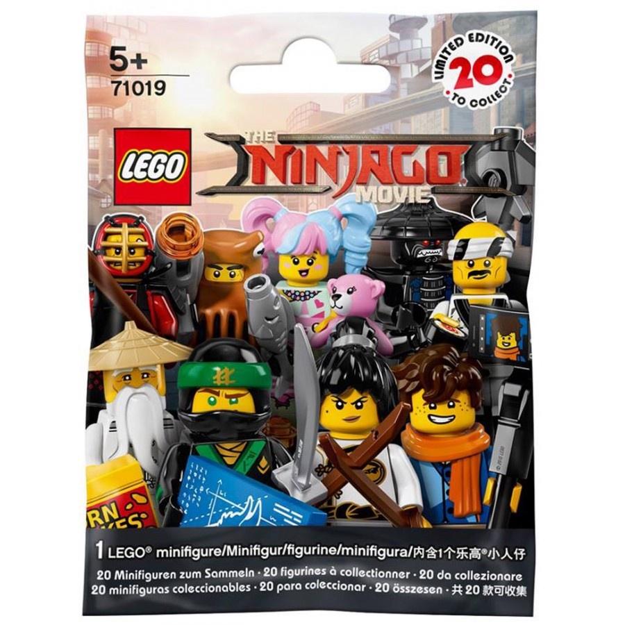 лучшая цена Случайная минифигура LEGO The Ninjago Movie (71019)