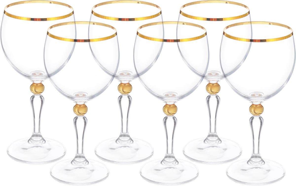 "Набор бокалов для вина Bohemia Crystal ""Кармен"", 240 мл, 6 шт"