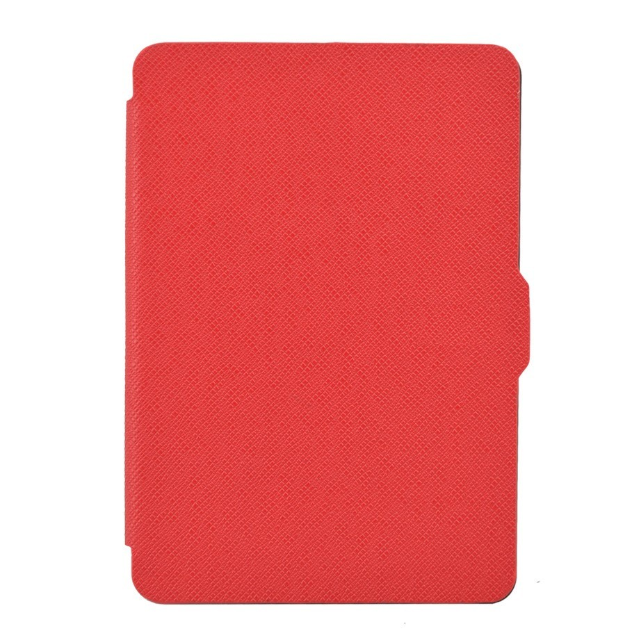 Чехол-обложка GoodChoice Ultraslim для Amazon Kindle 8 (красный) кейс для назначение amazon kindle fire hd 8 7th generation 2017 release бумажник для карт кошелек со стендом с узором авто режим сна