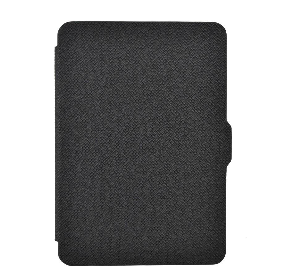 Чехол-обложка GoodChoice Ultraslim для Amazon Kindle 8 (черный) кейс для назначение amazon kindle fire hd 8 7th generation 2017 release бумажник для карт кошелек со стендом с узором авто режим сна