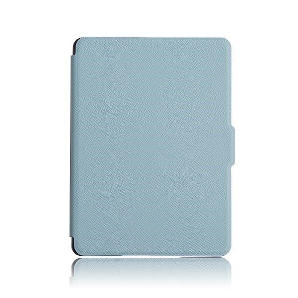 Чехол-обложка GoodChoice Ultraslim для Amazon Kindle 8 (голубой) кейс для назначение amazon kindle fire hd 8 7th generation 2017 release бумажник для карт кошелек со стендом с узором авто режим сна
