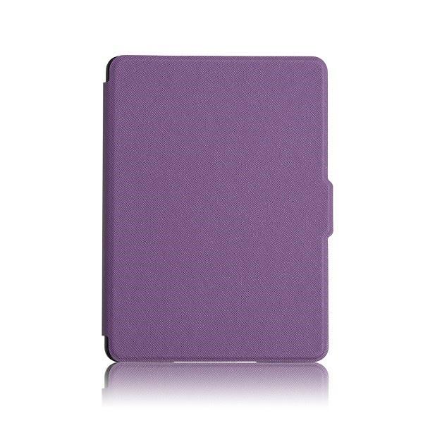 Чехол-обложка GoodChoice Ultraslim для Amazon Kindle 8 (фиолетовый) кейс для назначение amazon kindle fire hd 8 7th generation 2017 release бумажник для карт кошелек со стендом с узором авто режим сна
