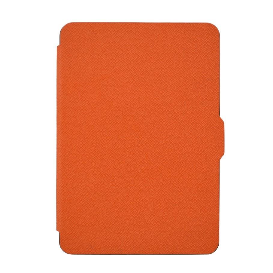 Чехол-обложка GoodChoice Ultraslim для Amazon Kindle 8 (оранжевый) кейс для назначение amazon kindle fire hd 8 7th generation 2017 release бумажник для карт кошелек со стендом с узором авто режим сна