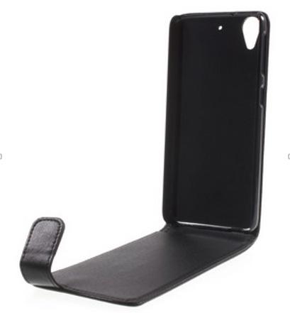 Чехол-флип MyPads для HTC Desire 626 вертикальный откидной черный sinteluo dot view для htc desire 626 626g dual sim