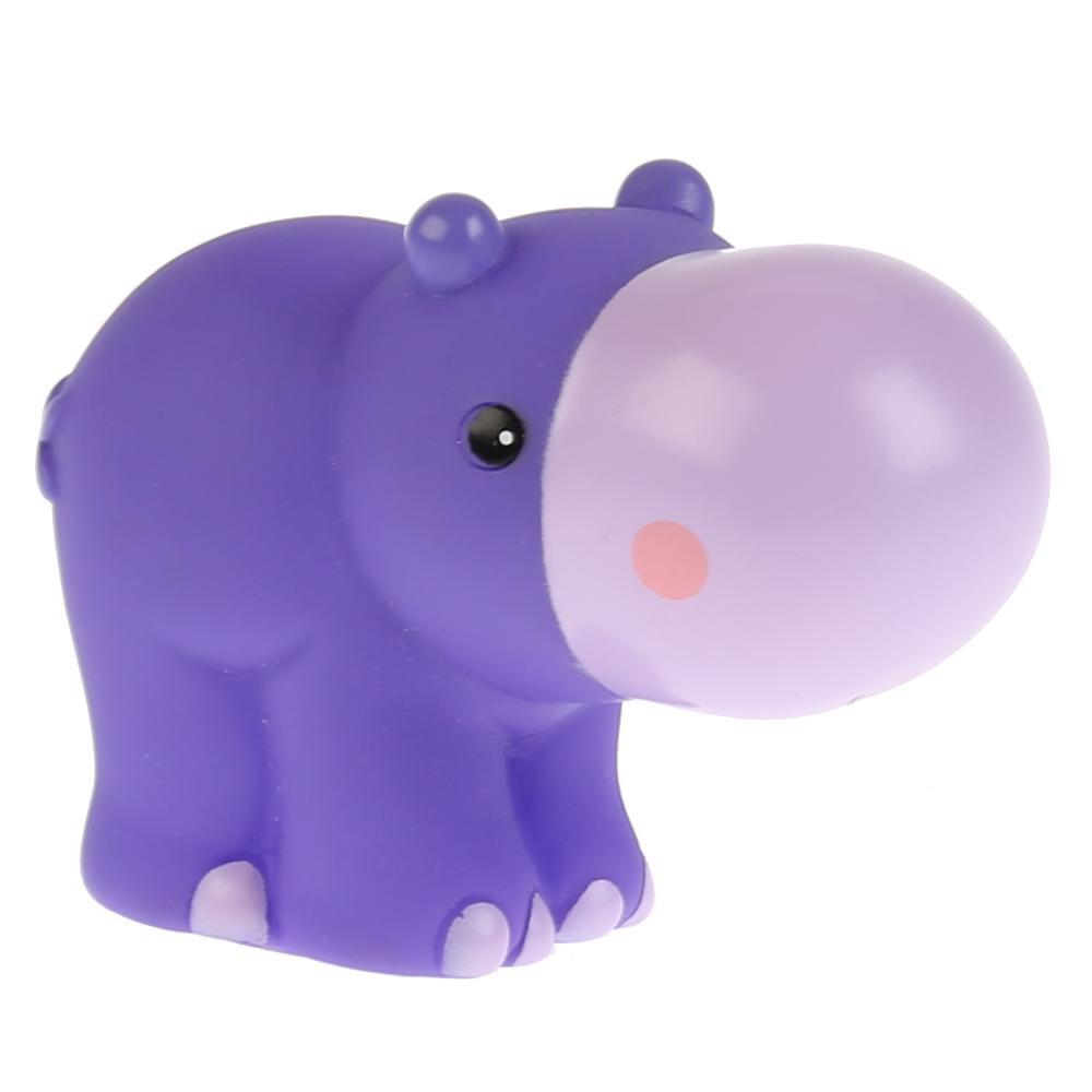Игрушки пластизоль для купания КАПИТОШКА Бегемот Fisher-Price 6,4см в сетке игрушка для купания для ванны играем вместе львенок fisher price 8 2 см