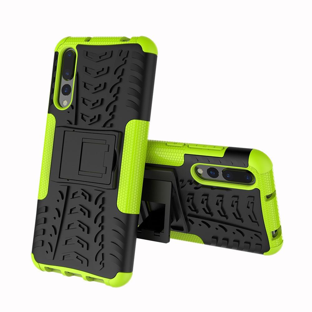 Чехол MyPads для LG X power 2 M320 Противоударный усиленный ударопрочный зеленый