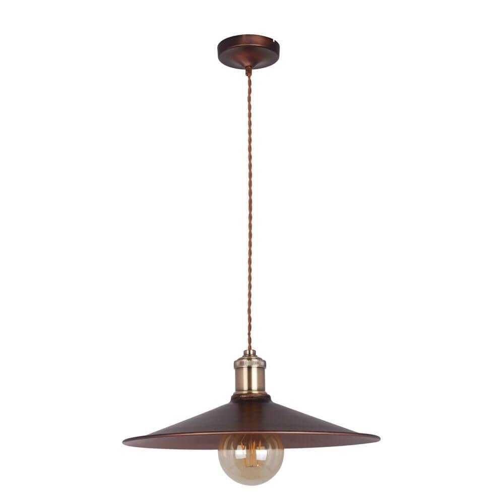 Подвесной светильник Maytoni T028-01-R, E27, 60 Вт подвесной светильник maytoni pyramide mod110 01 or