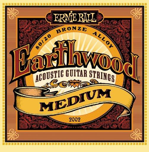 Cтруны для акустической гитары Ernie Ball 2002