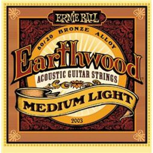 Cтруны для акустической гитары Ernie Ball 2003