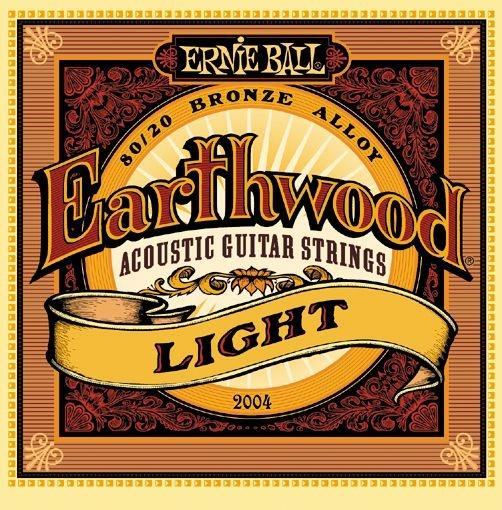 Cтруны для акустической гитары Ernie Ball 2004