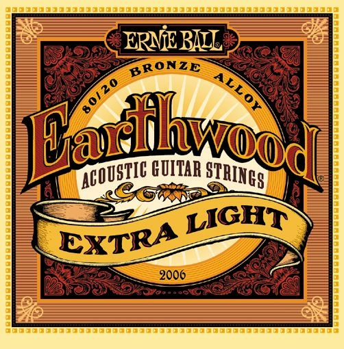 Cтруны для акустической гитары Ernie Ball 2006