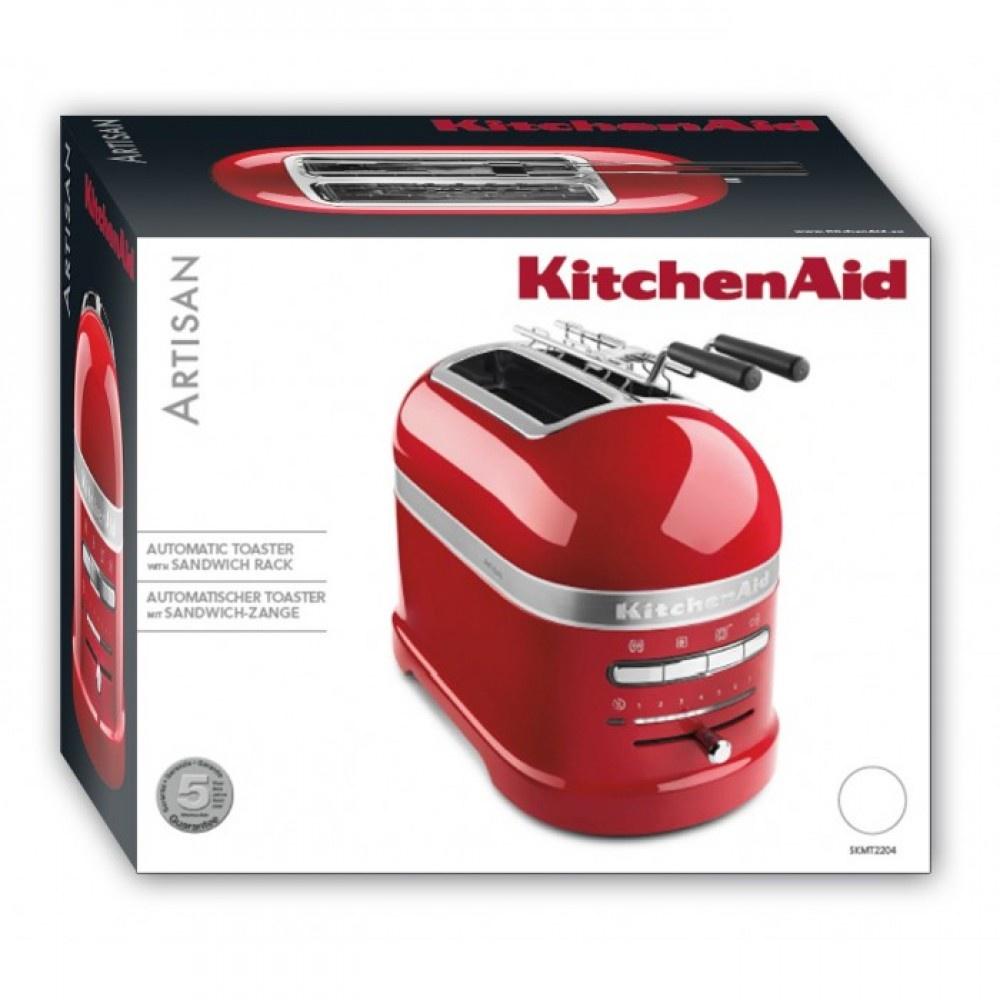 Тостер KitchenAid Artisan, чёрный, 5KMT2204EOB