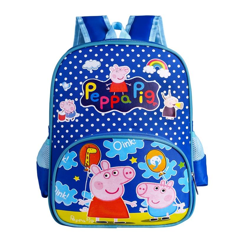 Рюкзак детский Peppa Pig, Свинка Пеппа, синий рюкзак discovery 40х28х16см рельефная анатомическая спинка тёмно синий