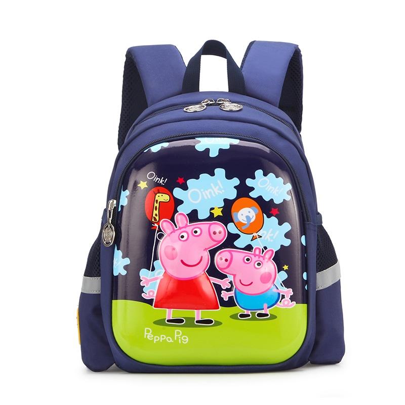 Рюкзак детский Peppa Pig, Свинка Пеппа, темно-синий рюкзак discovery 40х28х16см рельефная анатомическая спинка тёмно синий