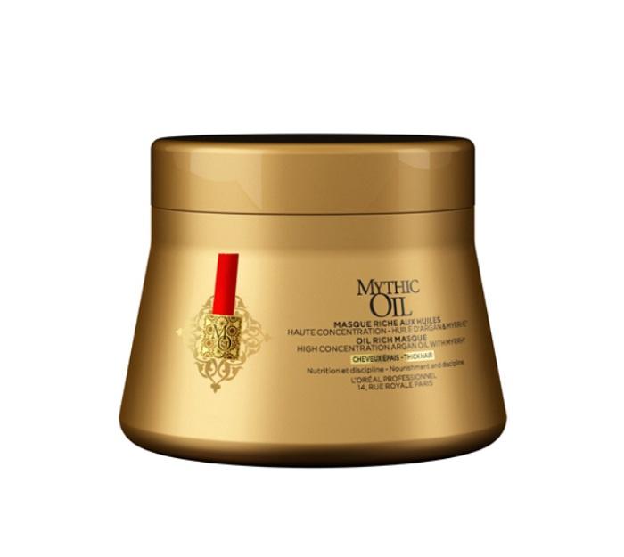 Маска для плотных волос Mythic Oil Rich Masque Thick Hair 200мл.