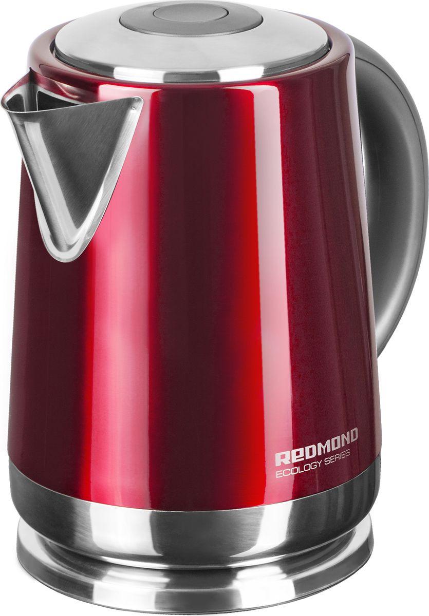 Электрический чайник Redmond RK-M148, красный