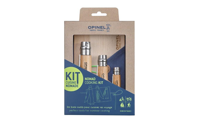 Набор Opinel Nomad Cooking Kit нож opinel gardening для грибников с щеточкой