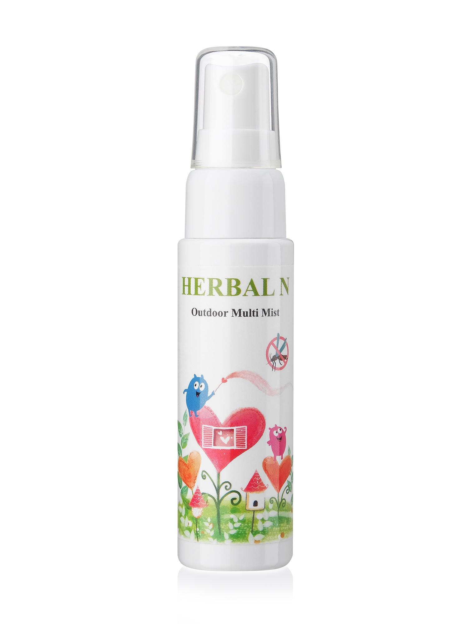 Натуральный освежающий детский спрей после укусов Herbal N Outdoor Multi Mist (30ml)