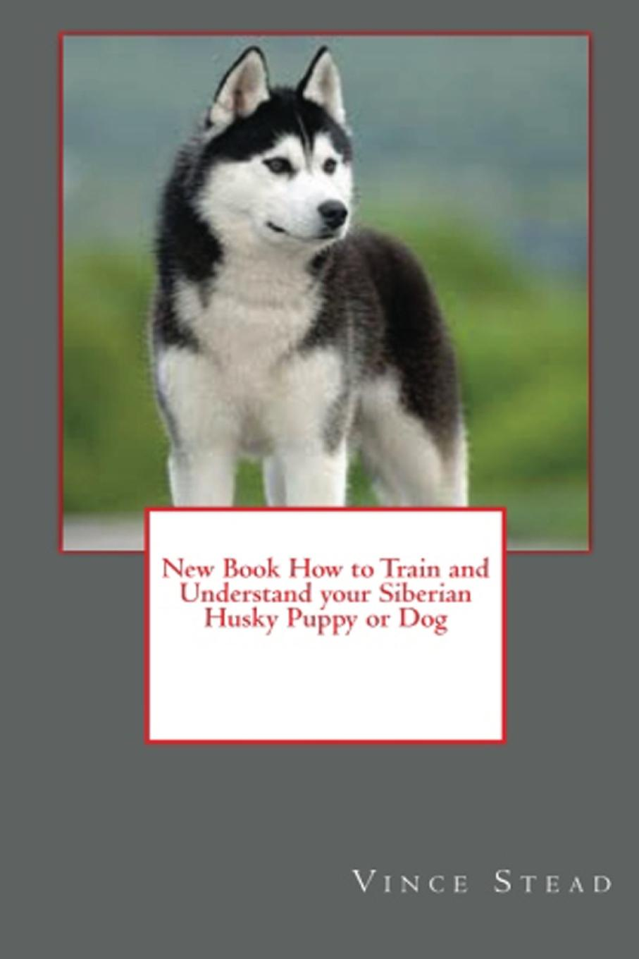 Vince Stead New Book How to Train and Understand your Siberian Husky Puppy or Dog vince stead how to understand and train your golden retriever puppy or dog
