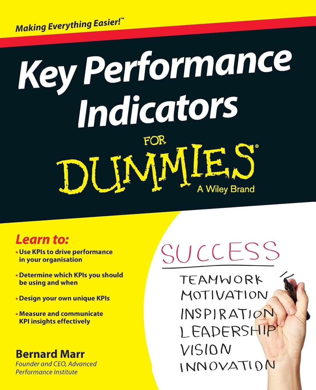 Фото - Bernard Marr Key Performance Indicators For Dummies david parmenter key performance indicators for government and non profit agencies implementing winning kpis