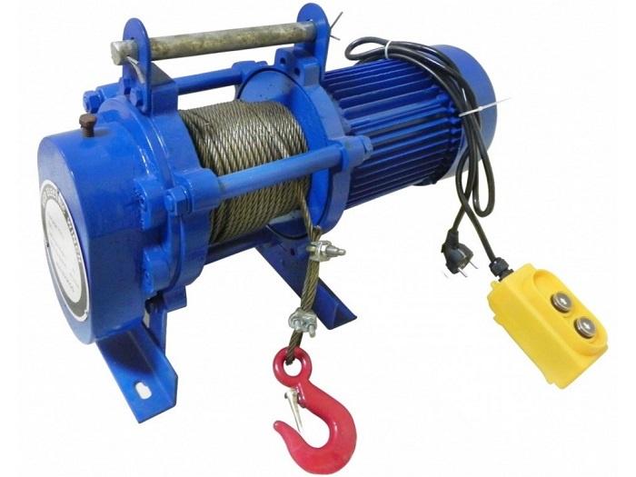 Лебедка электрическая Zitrek KCD-1000/2000/380v канат 100м