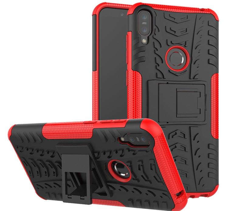 Чехол MyPads для Asus Zenfone Max Pro ZB602KL Противоударный усиленный ударопрочный красный смартфон asus zenfone max pro zb602kl 64gb цвет синий