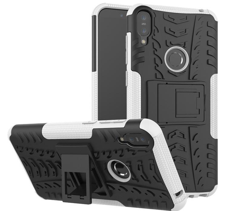 Чехол MyPads для Asus Zenfone Max Pro (ZB602KL) Противоударный усиленный ударопрочный белый смартфон asus zenfone max pro zb602kl 64gb цвет синий