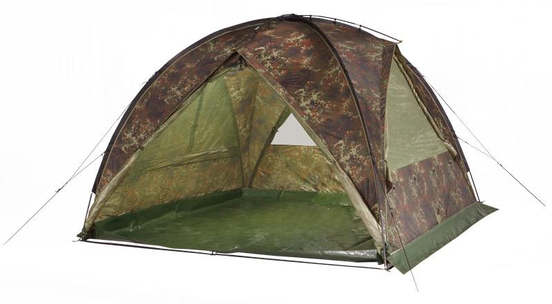 Палатка TENGU MARK 66T, flecktarn, 300x300x195