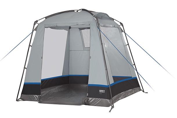 Палатка HIGH PEAK Veneto, светло-серый/тёмно-серый, 200х200 палатка high peak pavillon цвет светло серый темно серый 300 х 300 х 210 см 14046