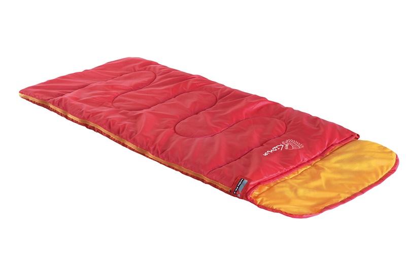 Мешок спальный HIGH PEAK Kiowa, красный/оранжевый, 70х170 см