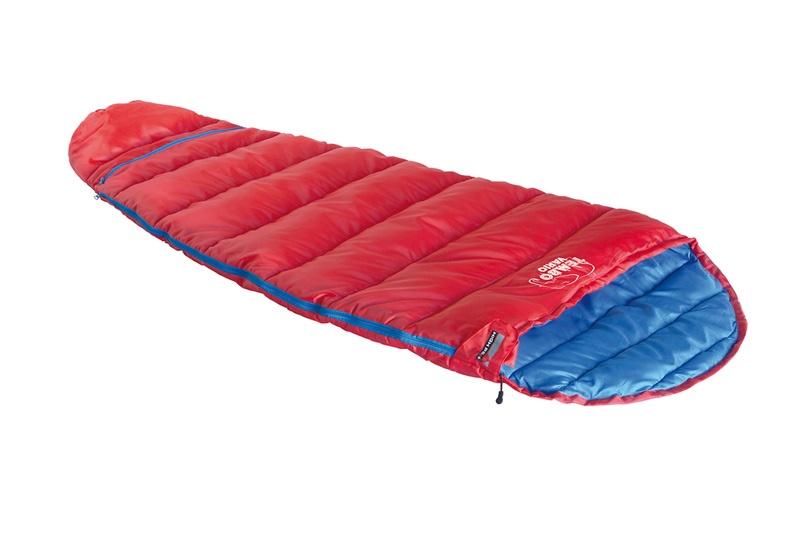 Мешок спальный HIGH PEAK Tembo Vario, красный/синий