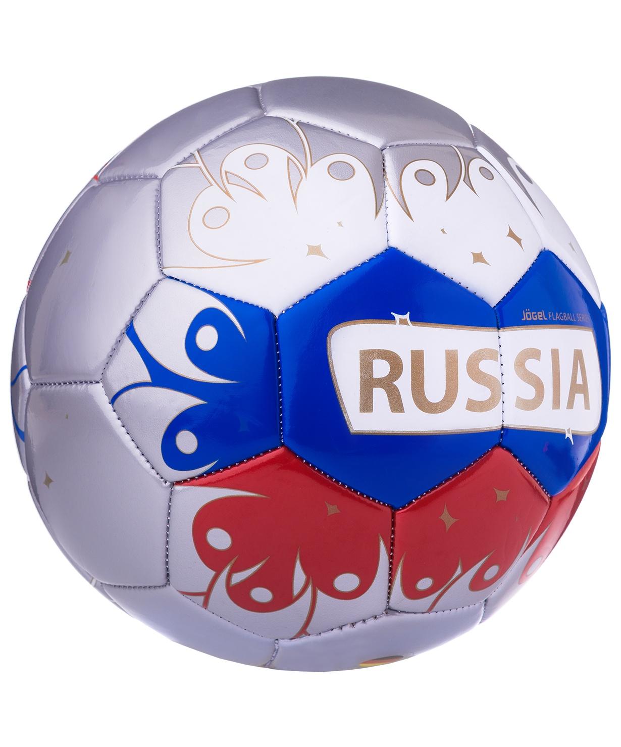 Мяч футбольный Jogel Russia, Размер 5