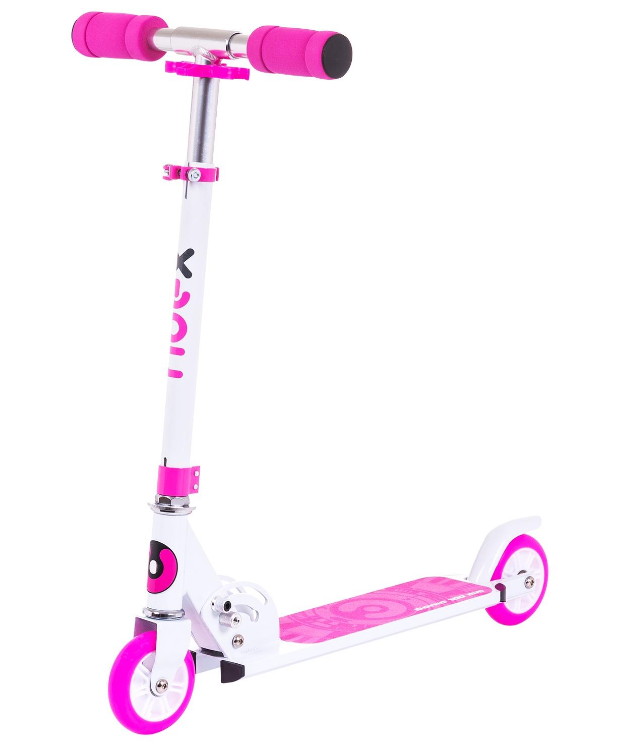 Самокат Ridex 2-колесный Sonic, 100 мм, розовый самокат ridex syndicate 2 колесный цвет красный