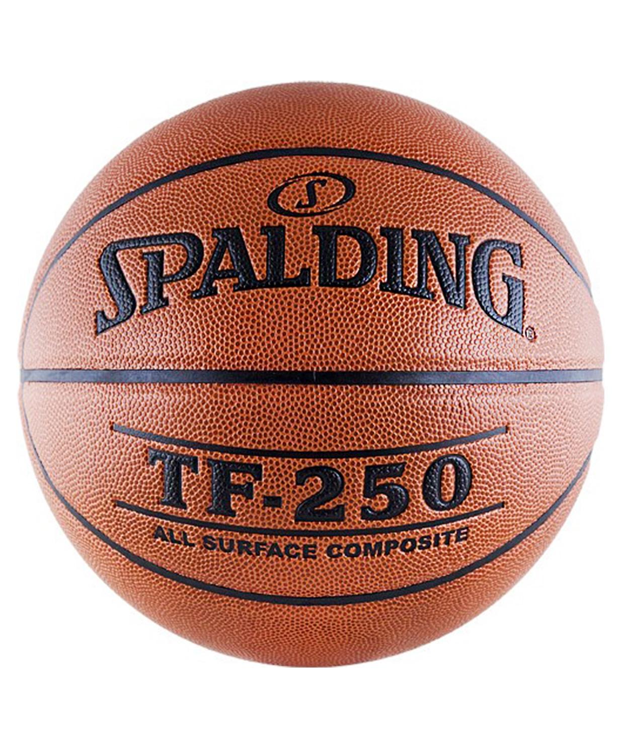 Мяч баскетбольный Spalding TF-250, Размер 7 (74-531) (7)