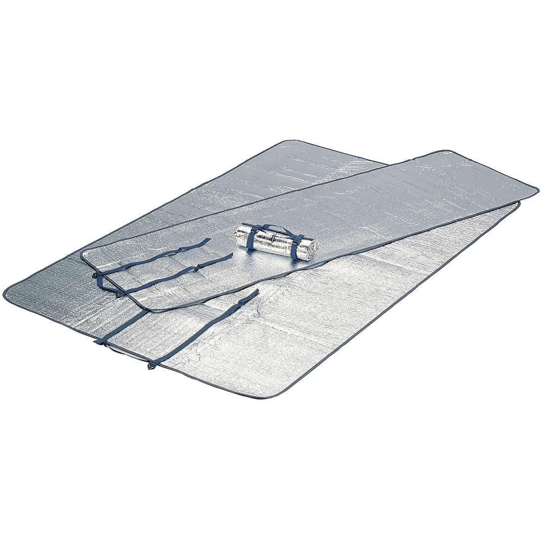 Коврик HIGH PEAK Alumatte Single, серебристый, 190 x 60 x 0,2 см