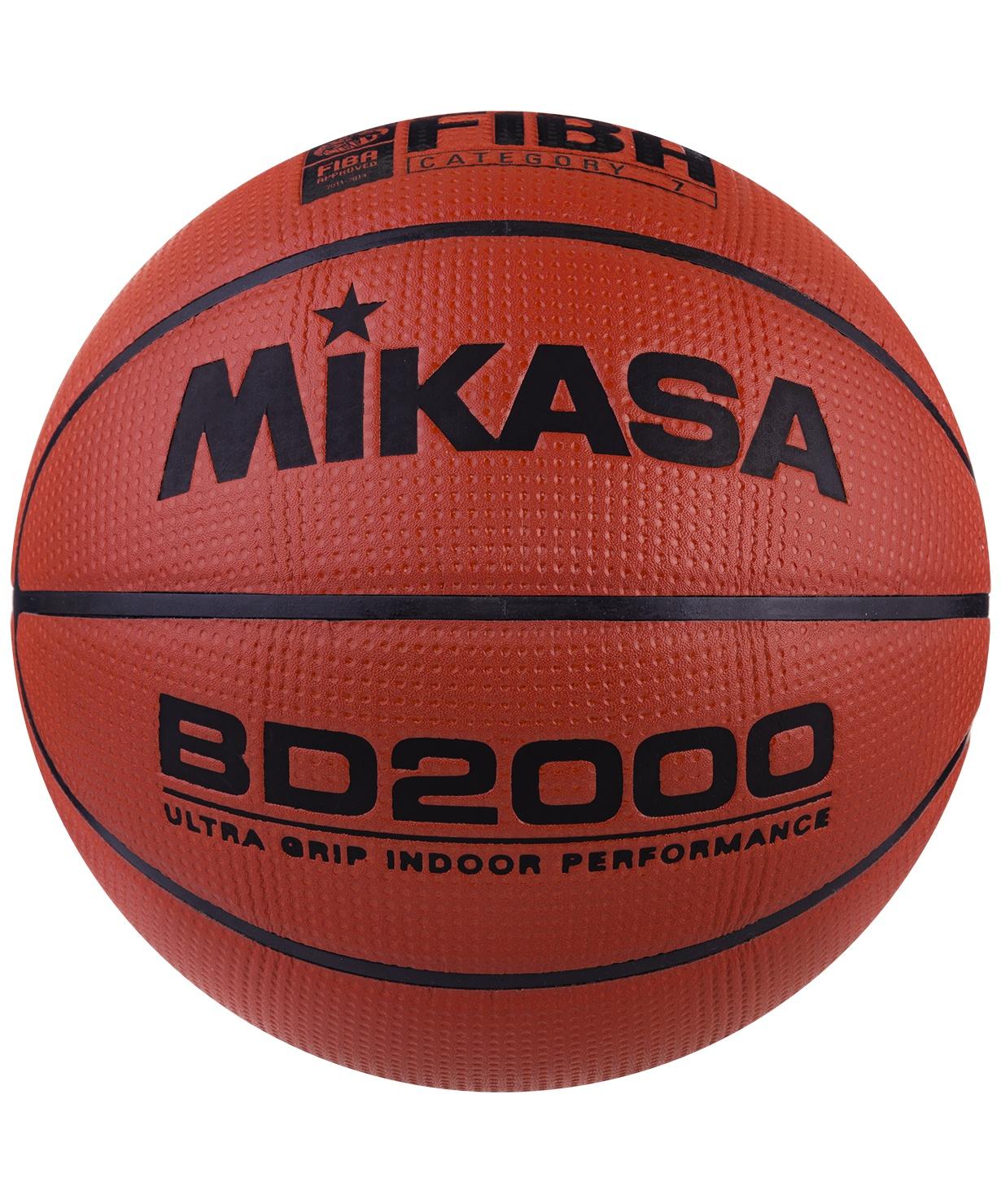Мяч баскетбольный Mikasa BD 2000, Размер 7 мяч баскетбольный mikasa 1020 р 7 8 панелей