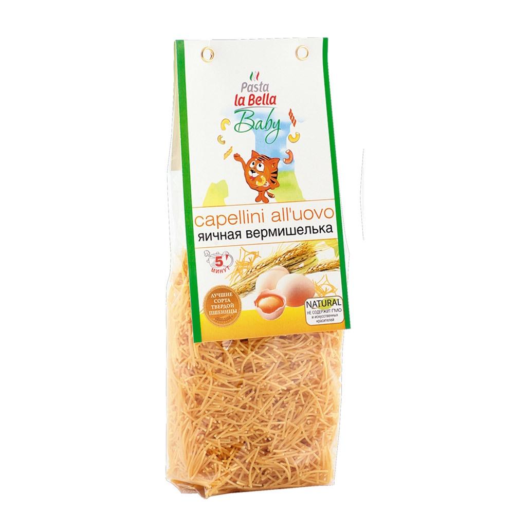 Pasta la Bella Baby Вермишелька Яичная цена в Москве и Питере