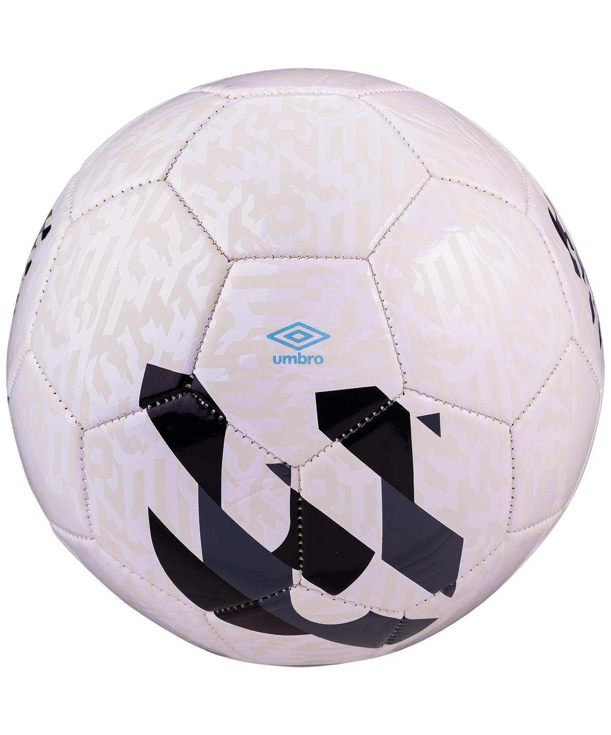 цена Мяч футбольный Umbro Veloce Supporter 20981U, Размер 3, белый/темно-серый/черный/голубой (3) онлайн в 2017 году